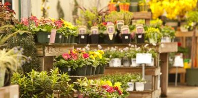 Tiers of plants don't have to look like a supply store aisle.