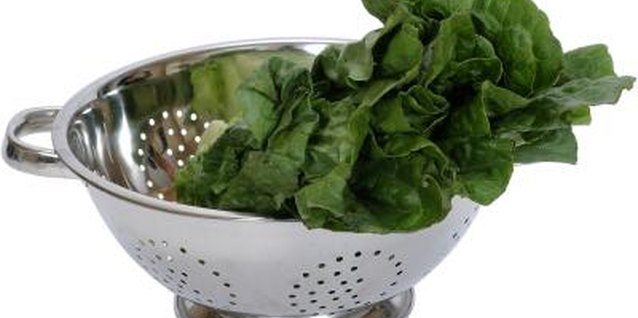 Serve red stemmed spinach fresh in salads or cook as you would regular spinach.