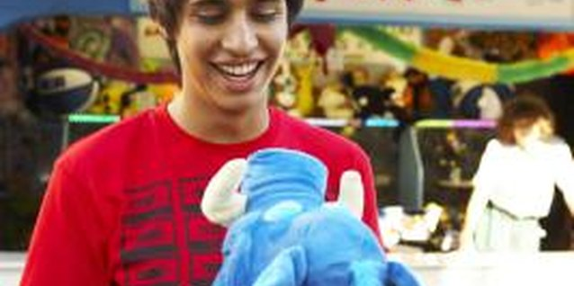 Some teenagers with Asperger's syndrome are comforted by the texture of stuffed animals.