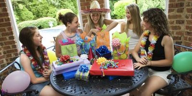 Help your teen choose a theme for her birthday party.