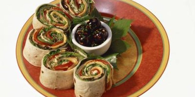 A wrap in a corn tortilla makes an easy gluten-free lunch.