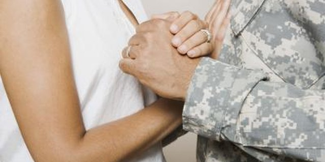 A military relationship can be hard to navigate.