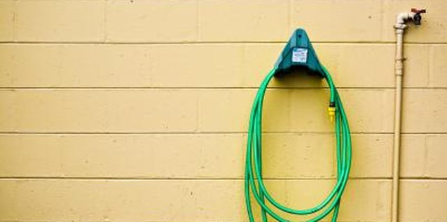 How to Install a Garden Hose Holder