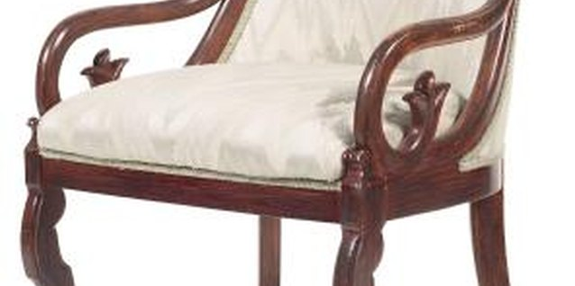 Find out if your furniture is solid mahogany or veneer.