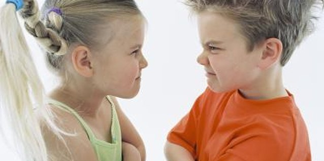 Tattling on each other is a favorite preschooler pastime.