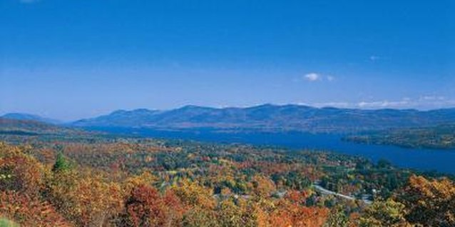 Lake George is an ideal vacation spot any time of the year.
