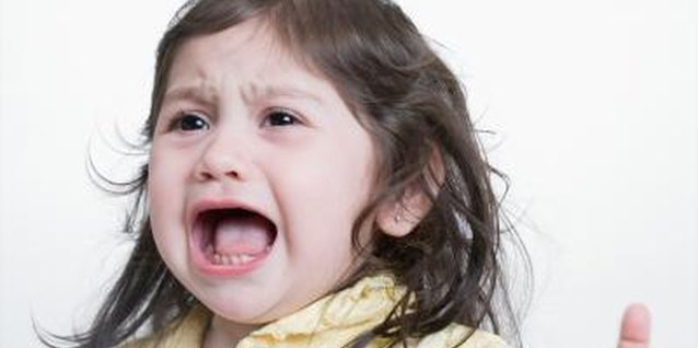 An occasional temper tantrum in toddlers is normal behavior.
