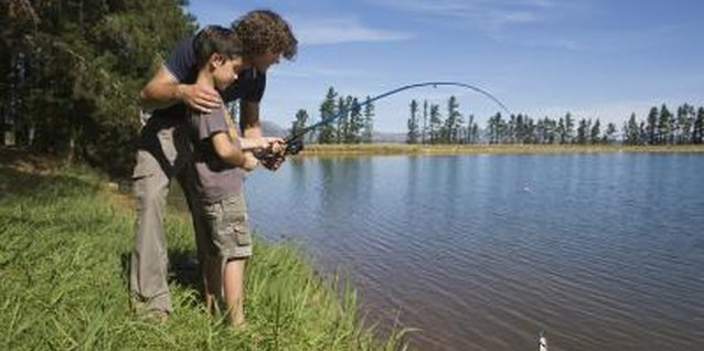 Fishing is a popular sport in Colorado.