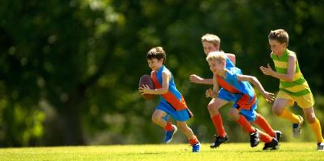 Kids should get an hour of physical activity a day.
