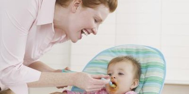 You can offer your toothless baby soft finger or pureed foods as a snack.