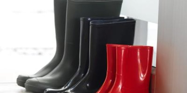 Keep your rubber boots smelling fresh with regular cleaning.
