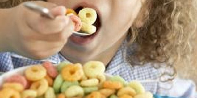 Kids may want sugary cereals, but choosing cereals fortified with iron and other nutrients is better for their development.