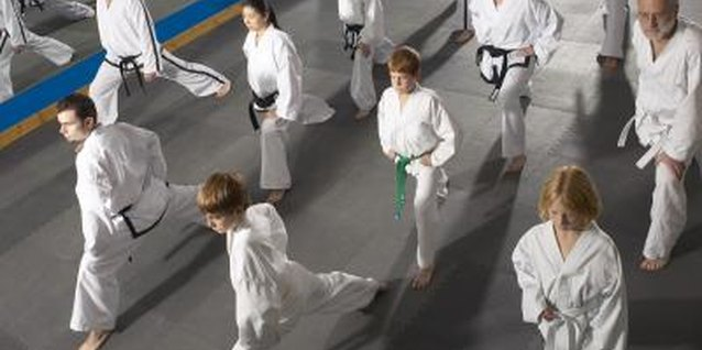 Martial arts classes taken by parents with their children sets a positive example and reinforces class benefits.