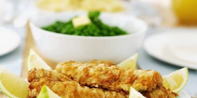 Breaded chicken, such as strips and nuggets, are a quick snack or meal.