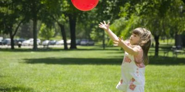 Preschool Activities on Throwing