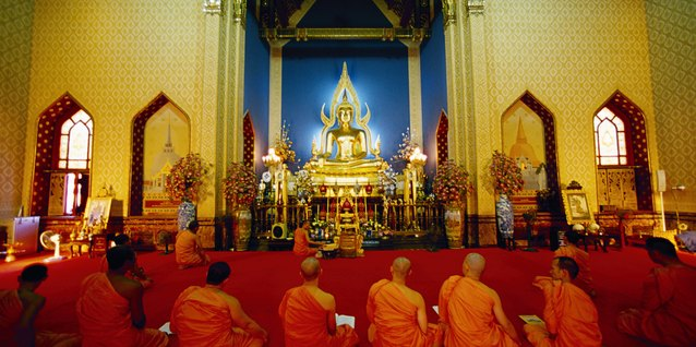 Etiquette for Buddhist Monks