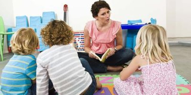 Children learn behaviors like sitting still and paying attention in preschool.