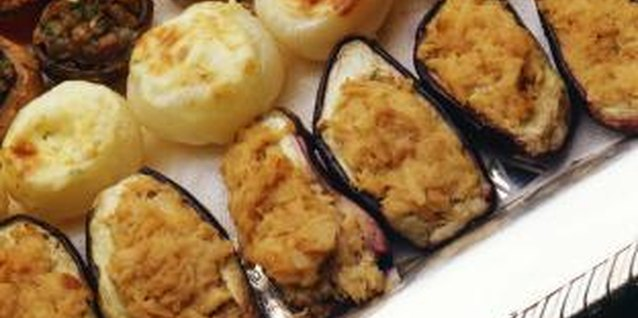 Stuffed mushrooms are a welcome part of any appetizer tray.