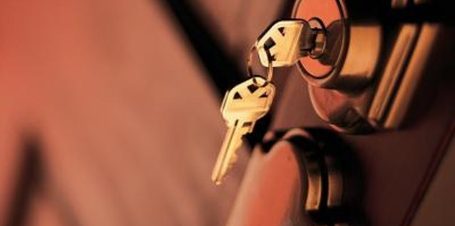 How to Remove a Broken Key From a Door Lock