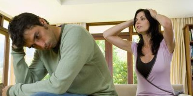 Remain calm and stick to the issues when interacting with a cold husband during divorce.