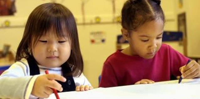 Activities for Preschool Children Using Colors and Shapes