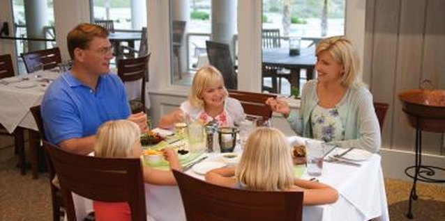 Introduce your kids to restaurant etiquette during off-peak hours when you won't disrupt other customers.
