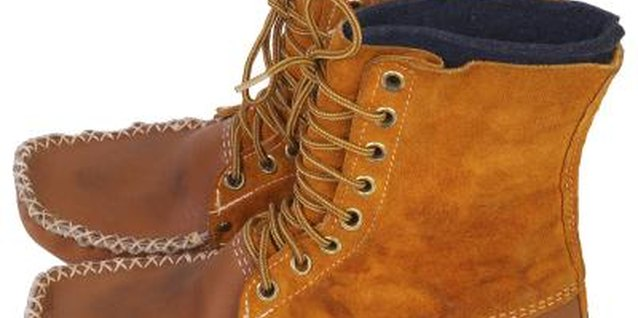 Moccasin boots are easy to style and match with almost any casual outfit.
