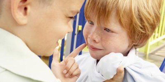 Bullying is one of several forms of childhood aggression.