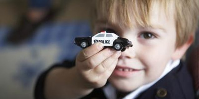 Playing with toy cars builds spacial recognition.