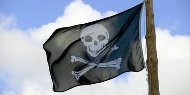 Your preschooler can fly the Jolly Roger proudly as he patrols your living room.