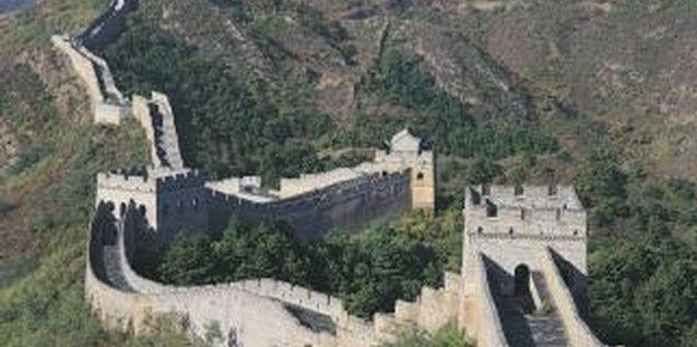 Information for Kids About the Great Wall of China