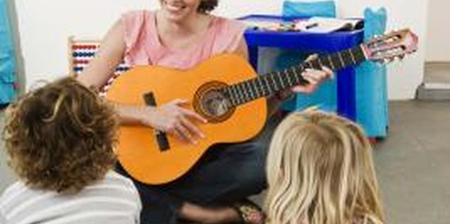 Toddlers develop important language skills through singing, finger plays and rhymes.
