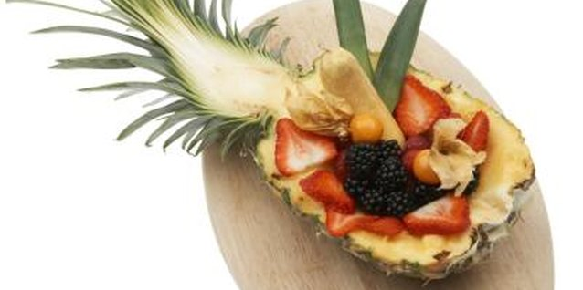 Island Party Theme Snacks That Children Can Make Themselves