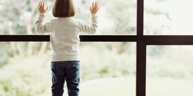 Keep your little window gazer safe with window locks.
