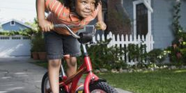 How to Teach a Child to Pedal a Bike
