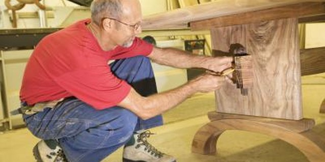 How to Change Trestle Table Bases to Four Legs