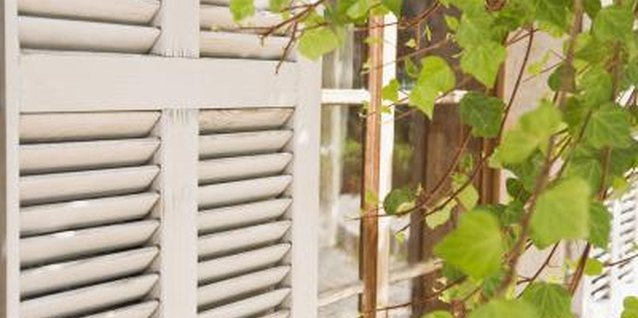 Projects Using Old Shutters