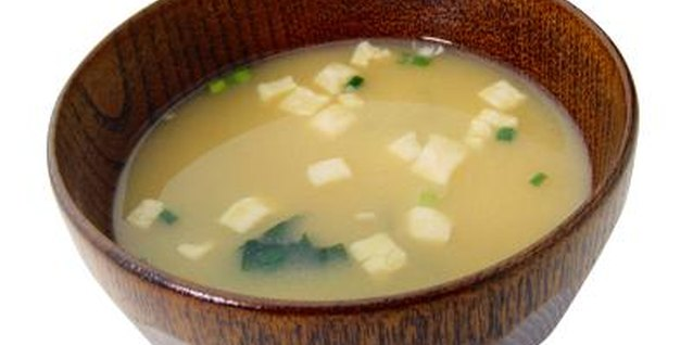 Most miso soups are not vegan-friendly.