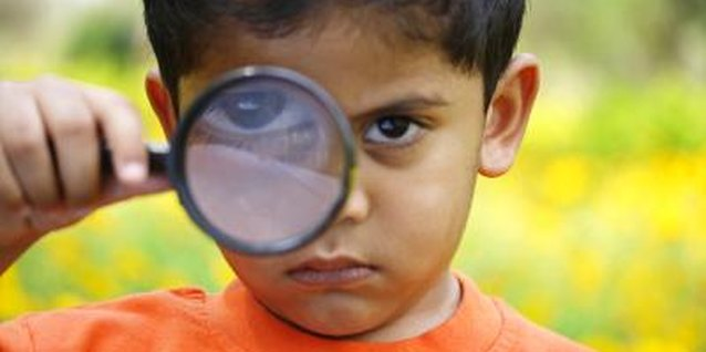 Your little gumshoe can discover a lot with a magnifying glass.