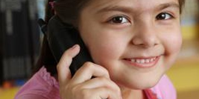 Older children can answer the phone as long as they know the rules.