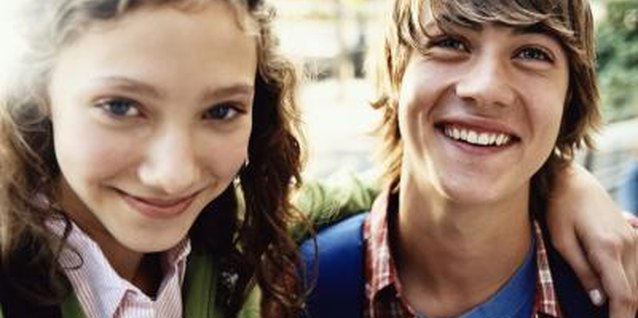 Encouraging healthy friendships may improve your teen's attitude.