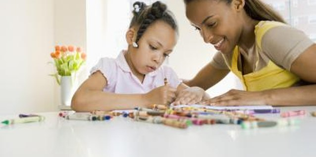 Ways to Help Children Hold Their Crayons