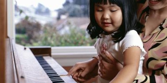 Introduce your toddler or preschooler to music through fun piano books.