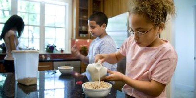 Fortified breakfast cereals give your kids a healthy portion of their daily zinc.