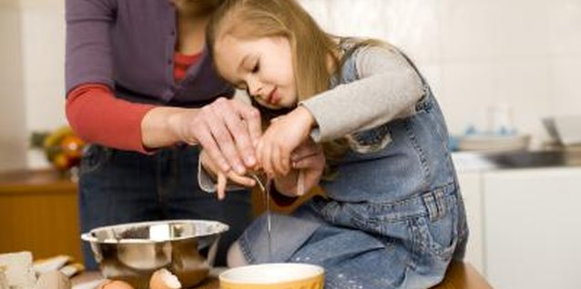 Let your preschooler help crack eggs and choose special popover ingredients.