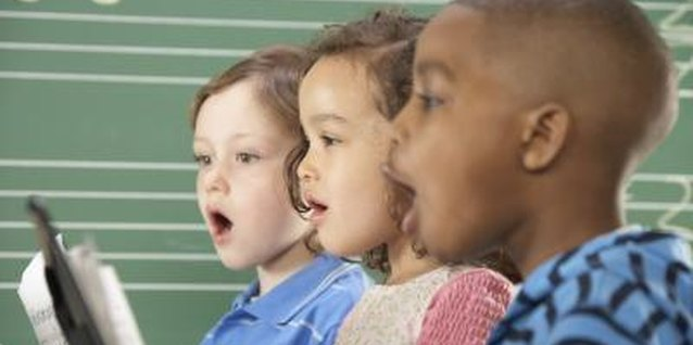 Kid-friendly vocal warm-ups will ensure that your preschooler is ready to sing.