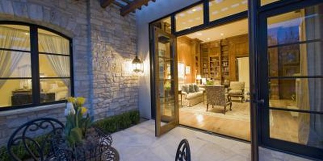 How to Seal a Sliding Glass Door From the Inside for Winter