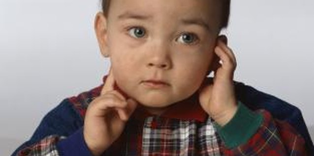 Toddlers' speech development might lag behind peers because of hearing loss.