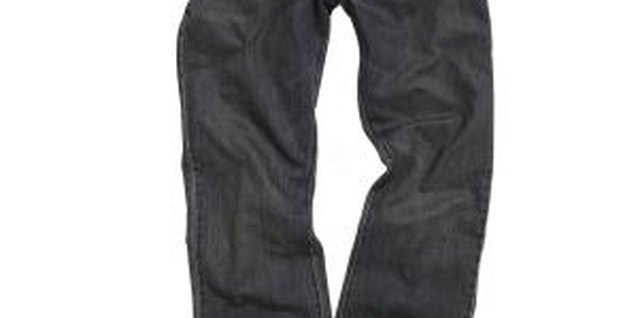 Hang your jeans promptly after drying to avoid unwanted creases.