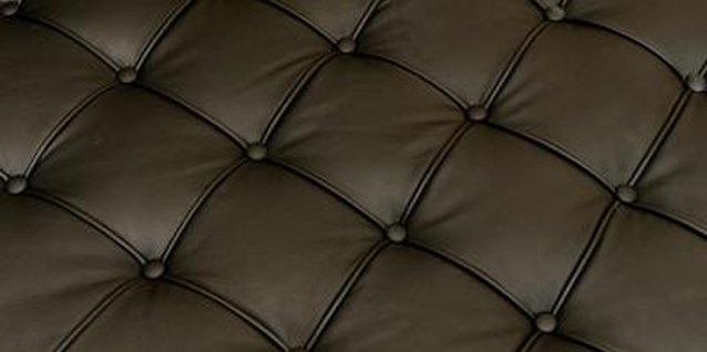 Synthetic leather is smooth and lacks visible pores.